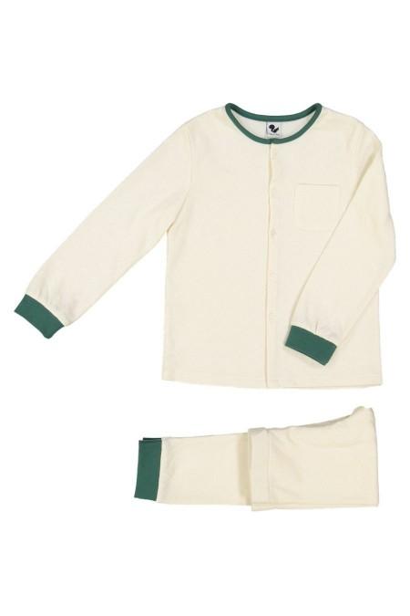 Pyjama coton bio papyrus