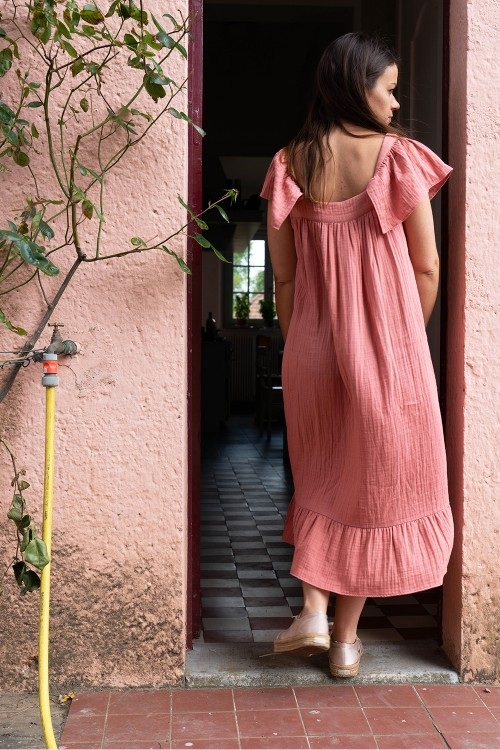 robe de nuit coton bio