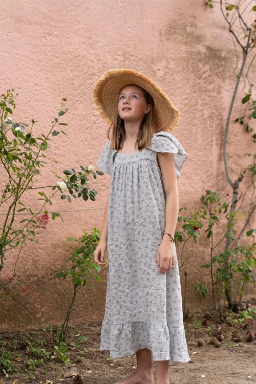 robe été coton biologique