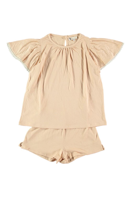 pyjama femme atalia coton bio seashell