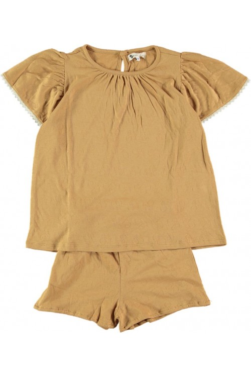pyjama femme atalia coton bio dune