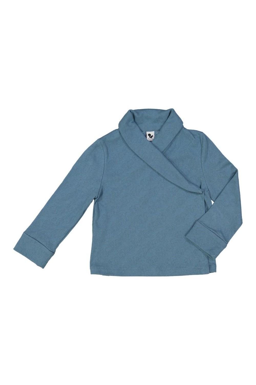 Veste en jersey de coton 100% bio