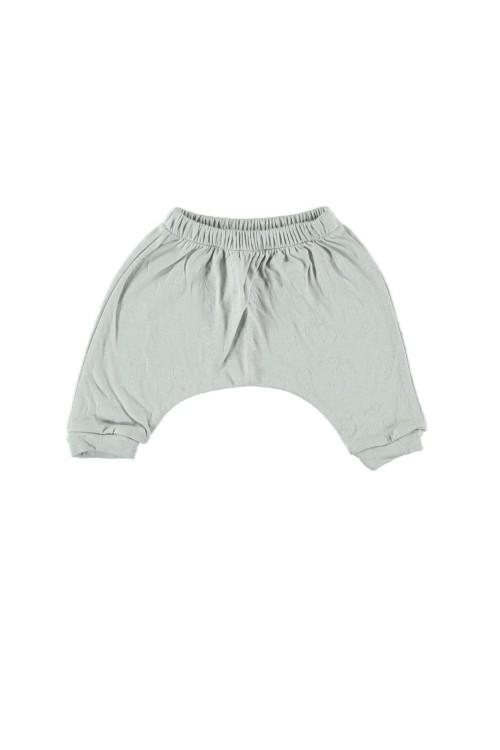 pantalon bébé coton bio bleu ciel
