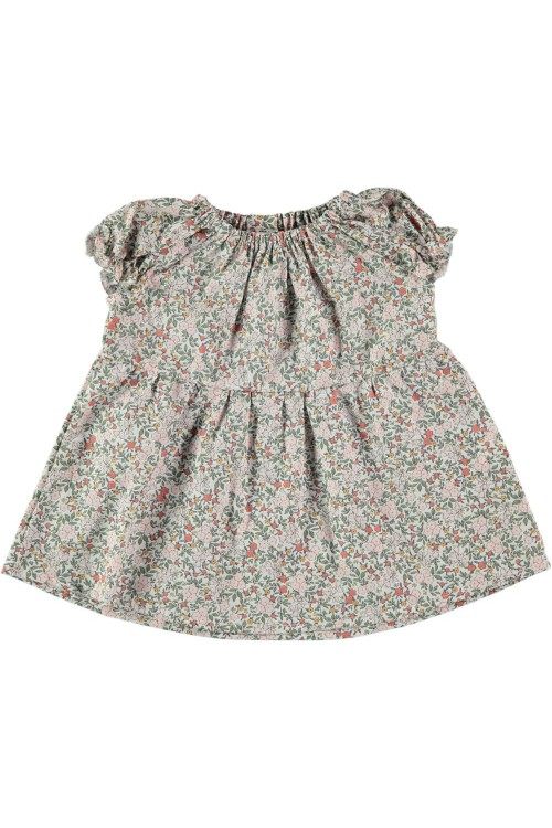 blouse Mia fleurs artemisia coton bio