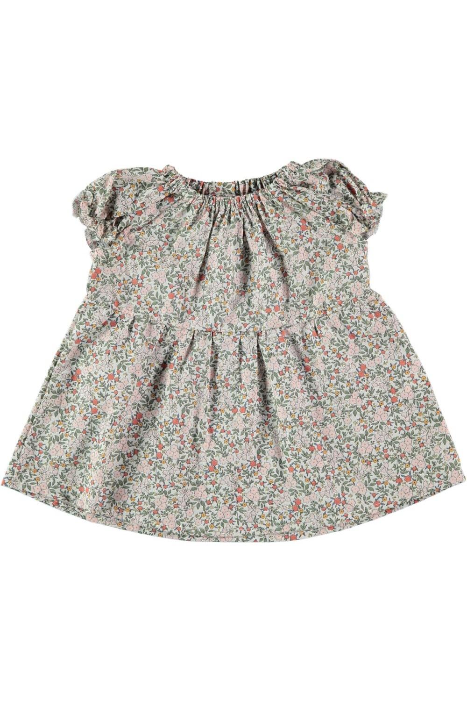 organic cotton girl's mia blouse