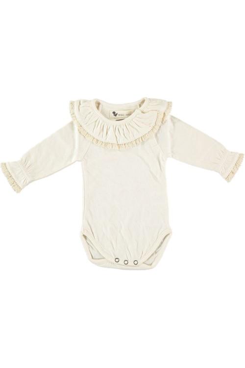 body maia bébé papyrus écru non teint