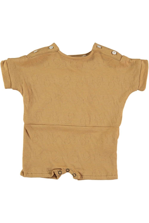 combishort bébé club dune coton bio