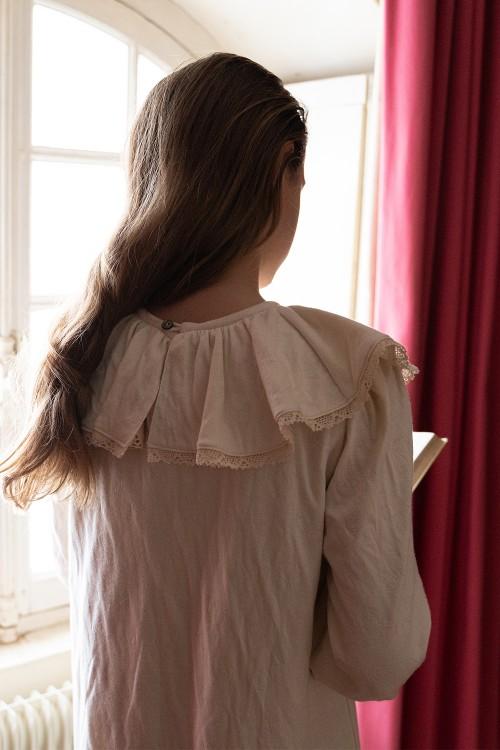 chemise de nuit chic coton bio non teint