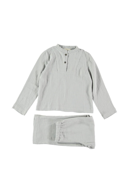 Pyjama enfant Deli gris clair