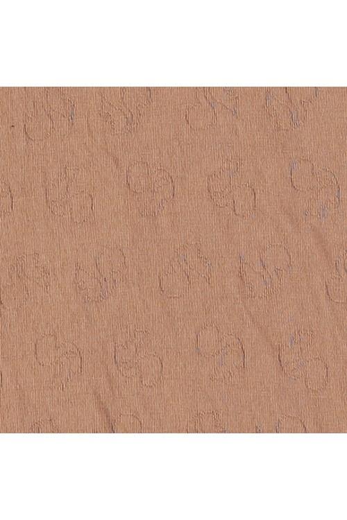 Jersey de coton bio brun