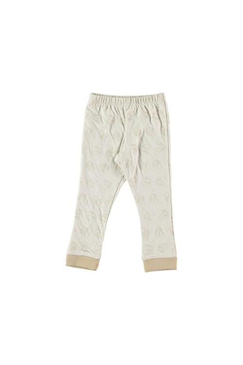 Bas de pyjama à motifs écureuils coton bio