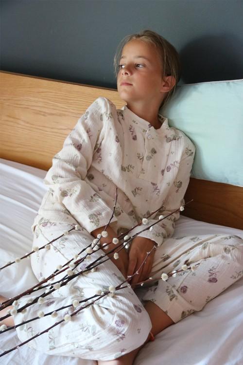 pyjama fille risu risu coton bio blossom