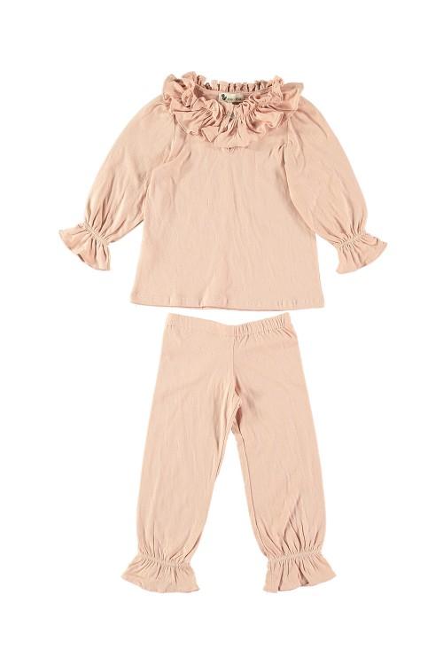 pyjama colombine coton bio praline