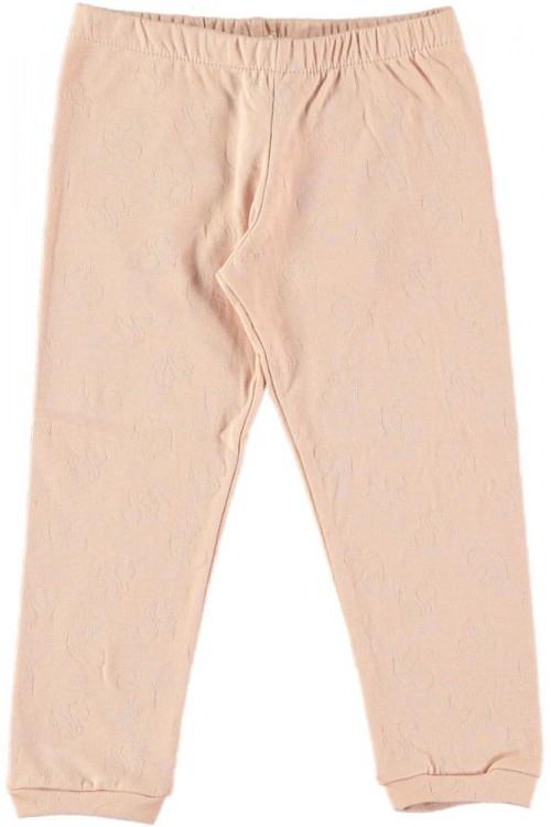 Legging coton bio rose praline