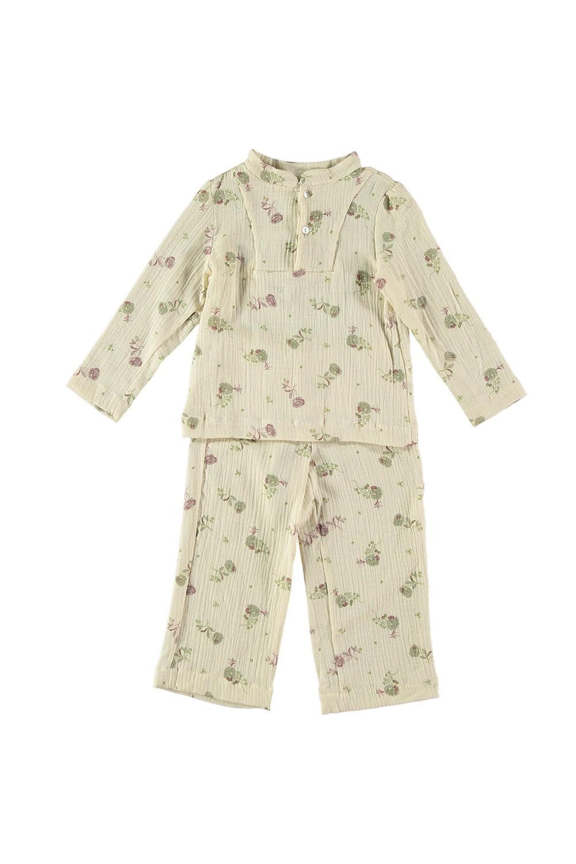 pyjama fille deli risu risu blossom