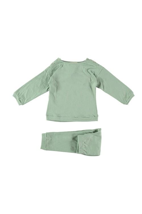 pyjama garçon dandy coton bio vert amande