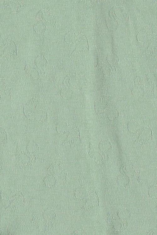 Pyjama en jersey exclusif de coton bio vert amande