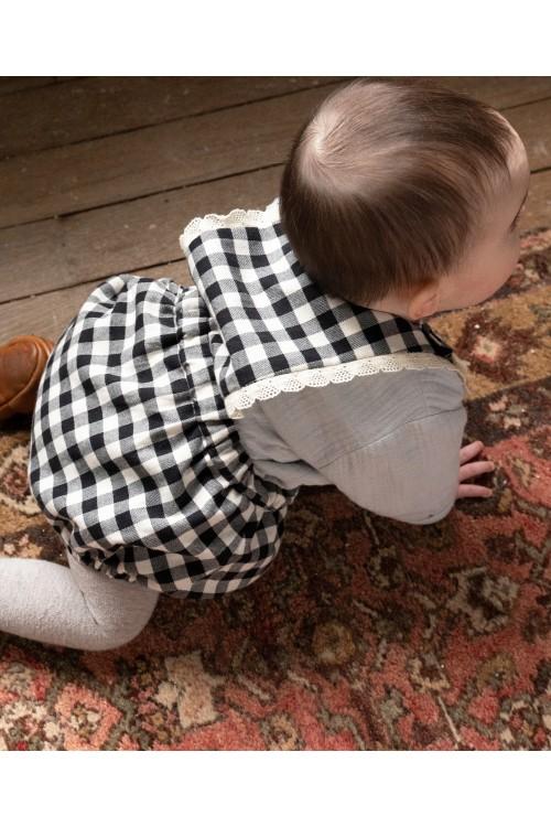 combinaison chic hiver bebe coton bio risu risu