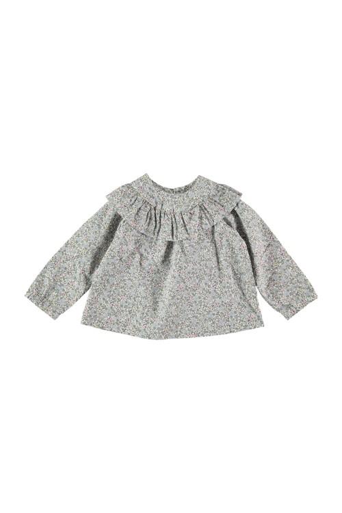 Blouse bébé Bouquet 100% coton bio