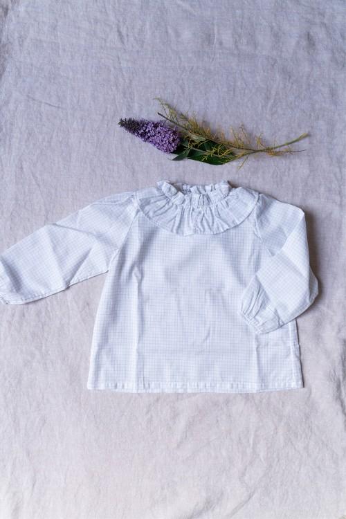blouse bébé pirouette coton bio notebook