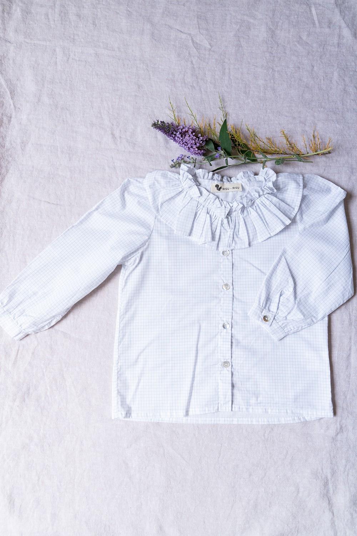 blouse fille pirouette coton bio notebook