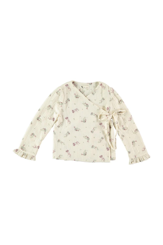 kimono fille coton bio fleurs blossom