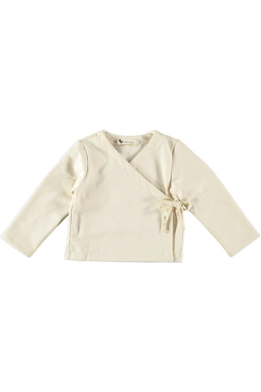 veste cache coeur bébé butterfly papyrus con bio