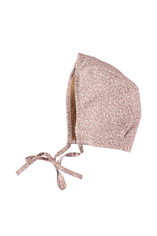 chapeau bébé doublé hiver coton bio