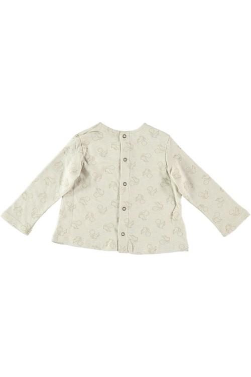 Blouse bébé en jersey de coton biologique