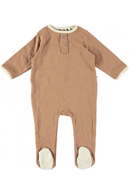 Pyjamas chestnut organic cotton