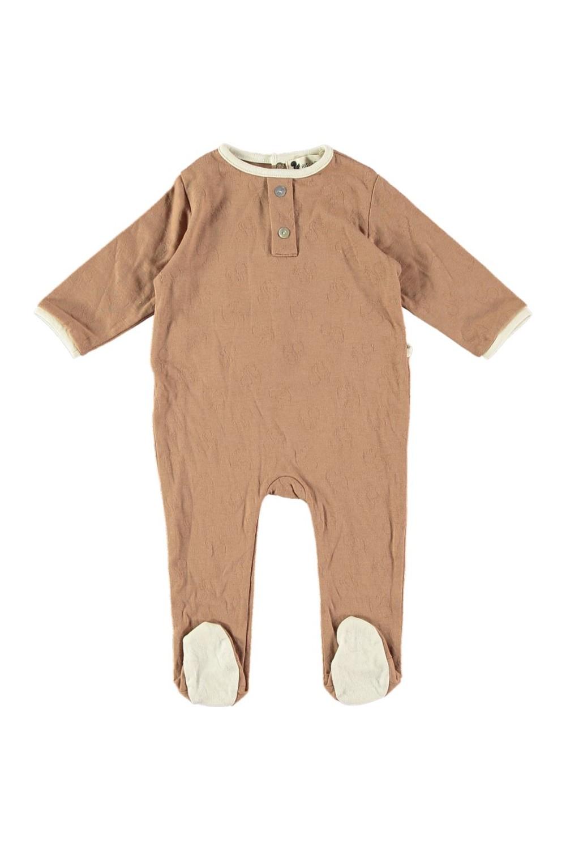 Pyjama châtaigne coton bio