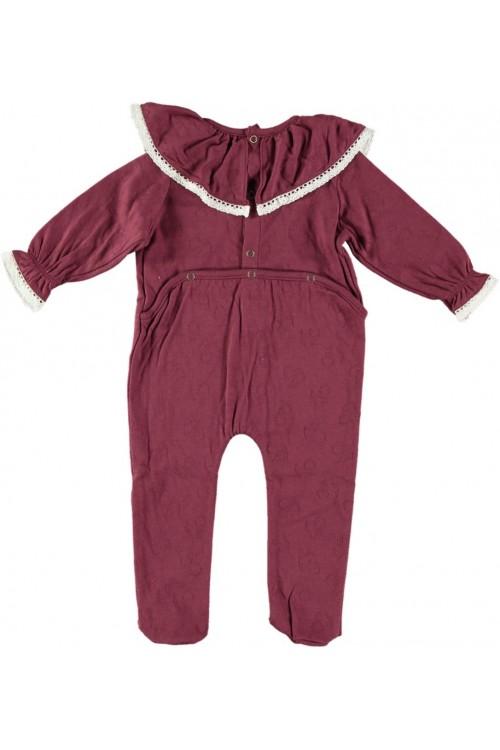 Pyjama dentelle coton bio