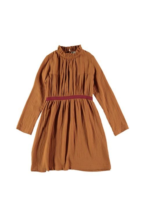 Robe Serpentine Ecureuil coton bio