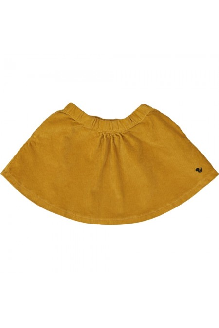 jupe kalinka fille risu risu jaune moutarde