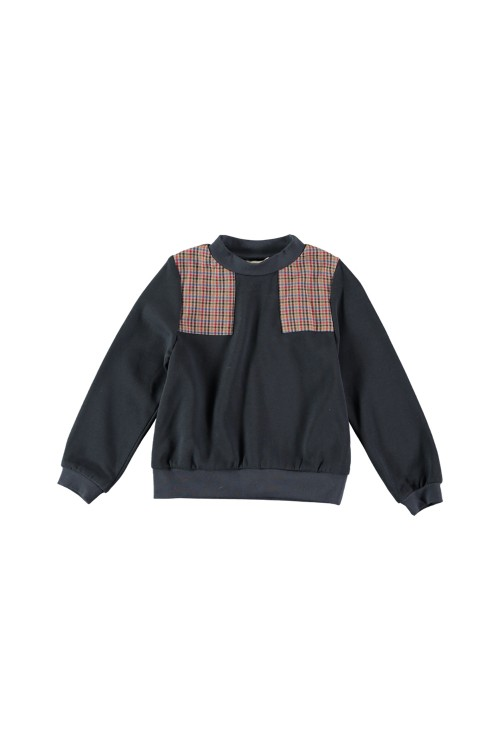 ami risu boy sweatshirt organic cotton
