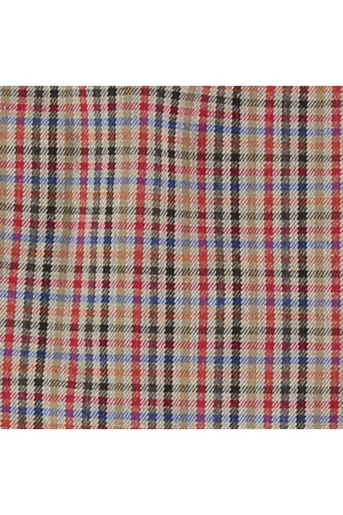 tissu écossais en coton bio