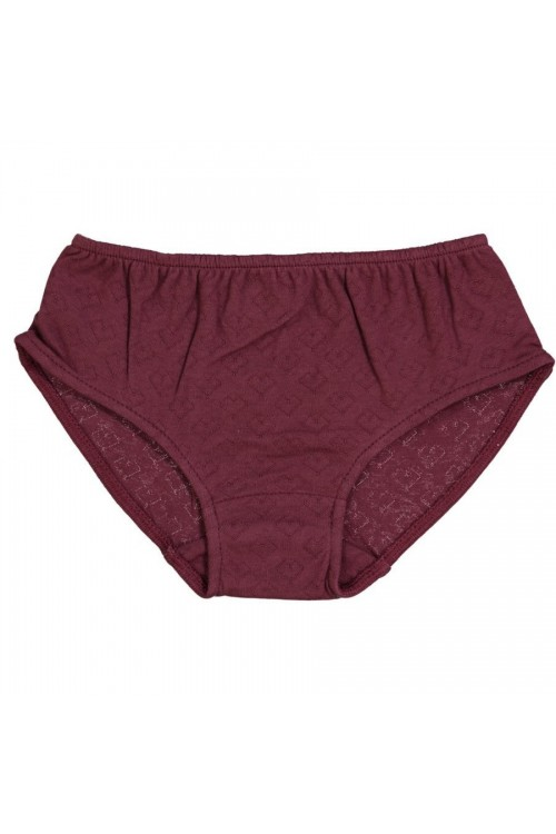 Organic cotton brief for girls