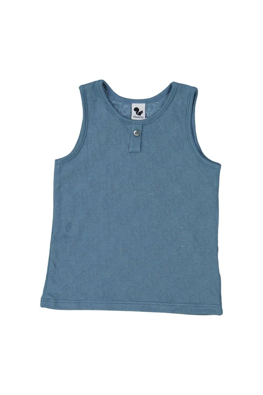 Organic cotton tank top vest
