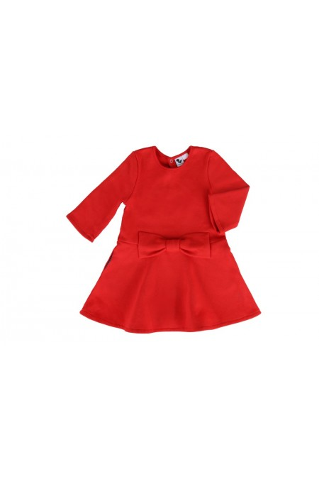 robe chichi risu risu coton bio rouge