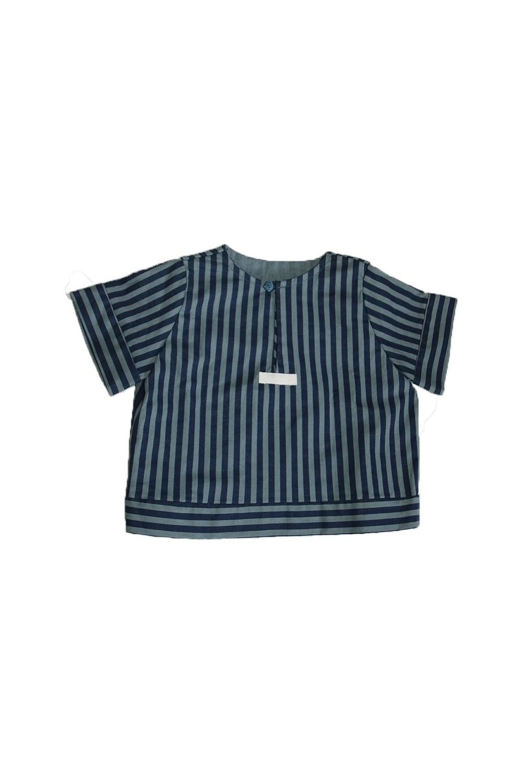 Chemise Pirate rayée coton bio