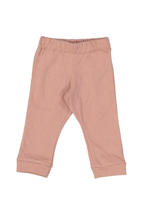 leggings pistil bébé pur coton bio rose risu risu