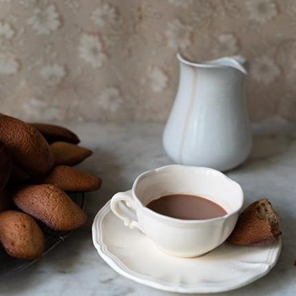 La petite recette des madeleines à la crème de marron