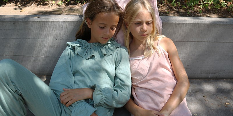 Vêtements en coton bio pour filles 3-12 ans : Risu Risu