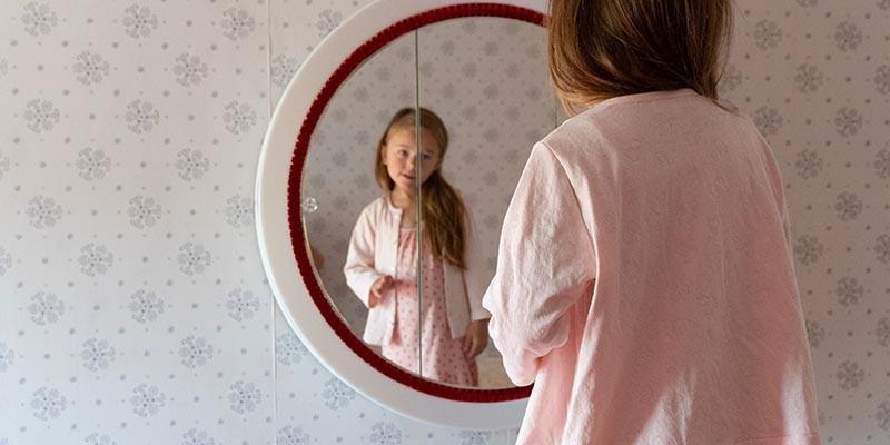 Robes de chambre fille en coton et finitions 100% bio, by Risu-Risu