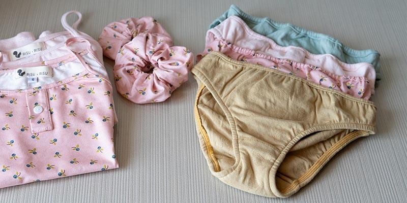 Culottes fille 3-14 ans, la collection 100% coton bio par Risu-Risu