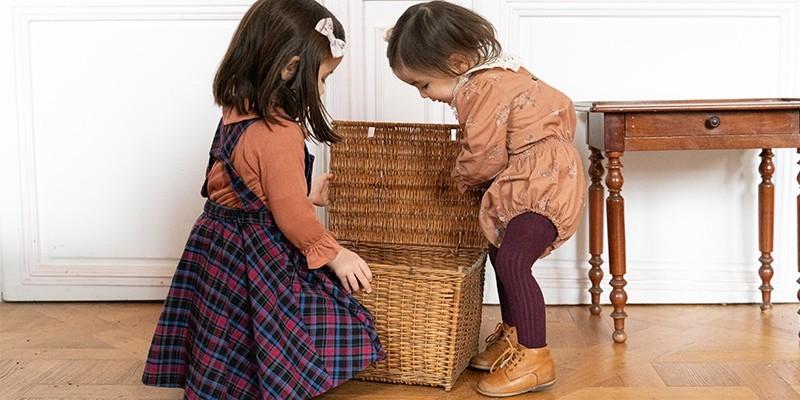 robes et combinaisons bébé en coton biologique risu risu