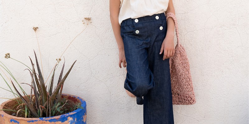 Organic cotton shorts & pants, trousers for boy & girl 3-12 years old